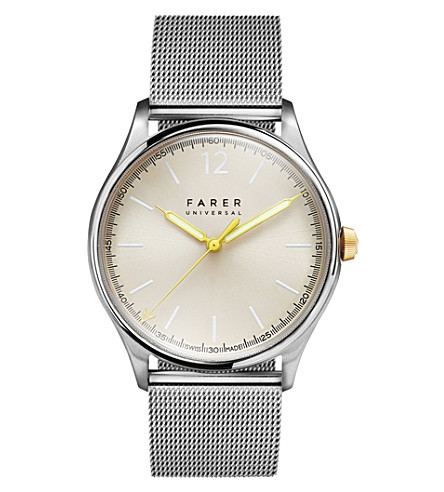 FARER Stark stainless steel watch (Silver