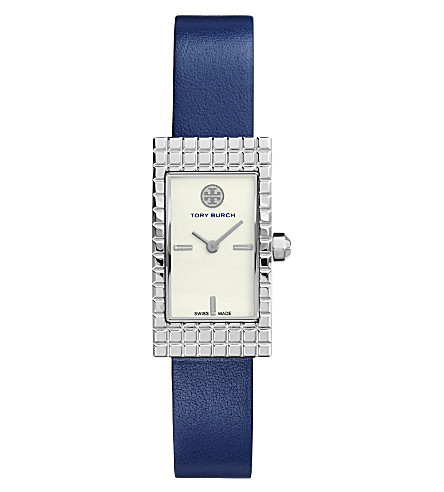 TORY BURCH The Buddy Signature stainless steel watch (Ivory