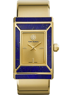 TORY BURCH The Robinson limited edition gold-toned stainless steel watch