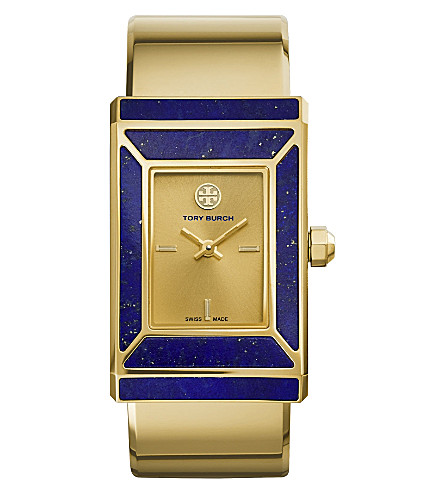 TORY BURCH The Robinson limited edition gold-toned stainless steel watch (Gold