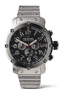 TW STEEL TW127 Grandeur Tech chronograph watch