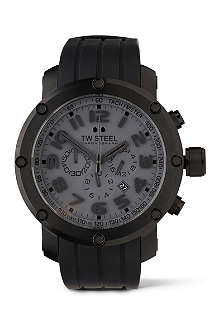 TW STEEL TW129 Grandeur Tech black chronograph watch