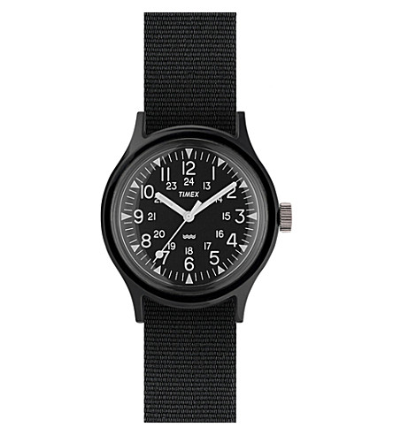 TIMEX ARCHIVE TW2R13800 Camper MK1 resin and grosgrain watch