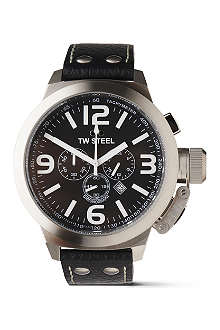 TW STEEL Canteen TW4 chronograph watch