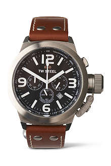 TW STEEL Canteen TW6 chronograph watch