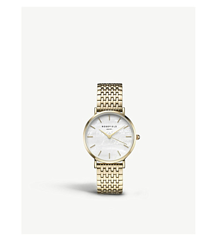 ROSEFIELD UEWG-U21 The Upper East Side gold-plated watch