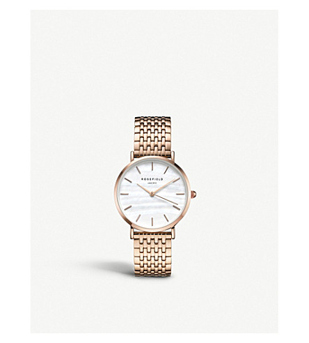 ROSEFIELD UEWR-U20 The Upper East Side rose gold-plated watch