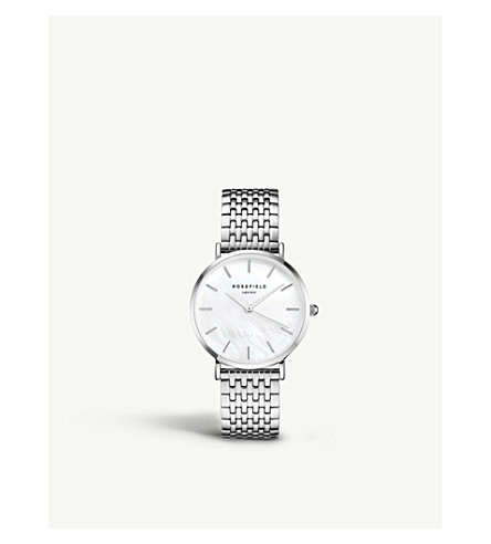 ROSEFIELD UEWS-U22 The Upper East Side silver-plated watch