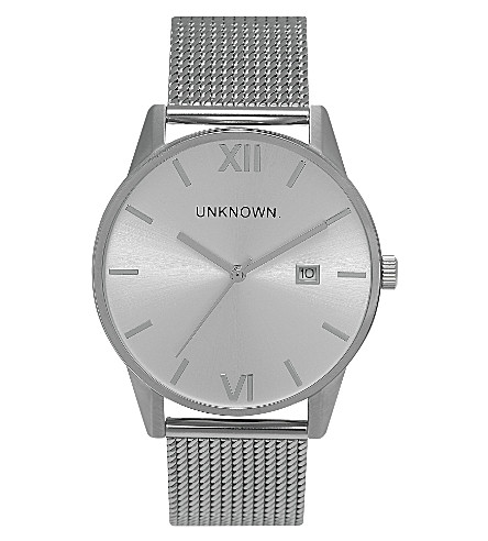UNKNOWN Un15da10 The Dandy stainless steel watch (Silver