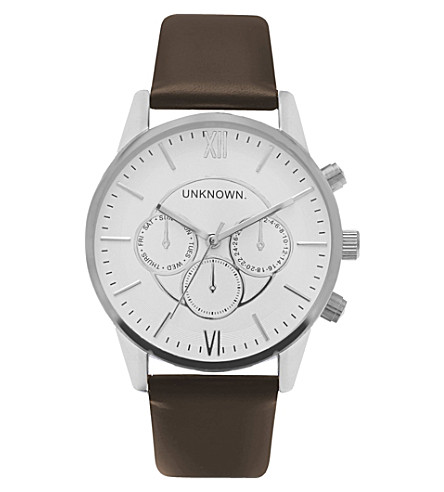 UNKNOWN Un15en08 Engineered stainless steel watch (White