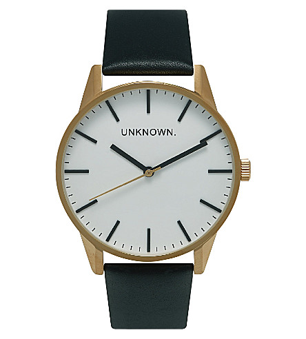 UNKNOWN Un15tc20 The Classic gold-toned stainless steel watch (White