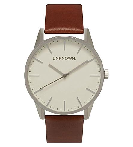 UNKNOWN UN15tc25 stainless steelwatch (Cream