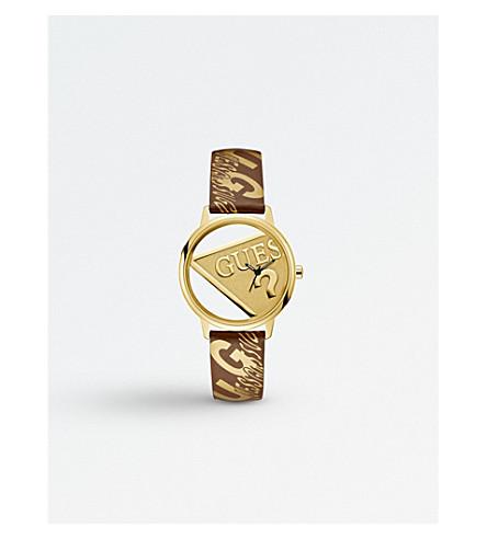 GUESS V1009M2 Originals 不锈钢皮表带腕表