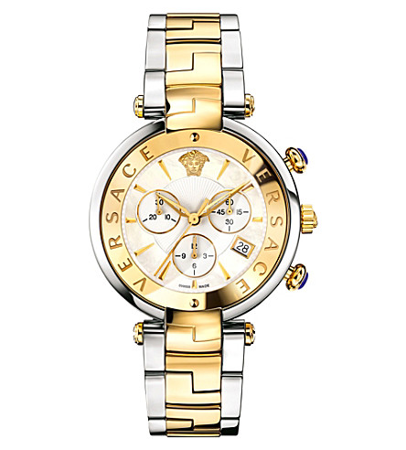 VERSACE VAJ05 0016 mother-of-pearl and stainless steel watch (Mop