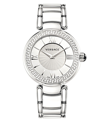 VERSACE VNC03 0014 Leda stainless steel watch (Silver