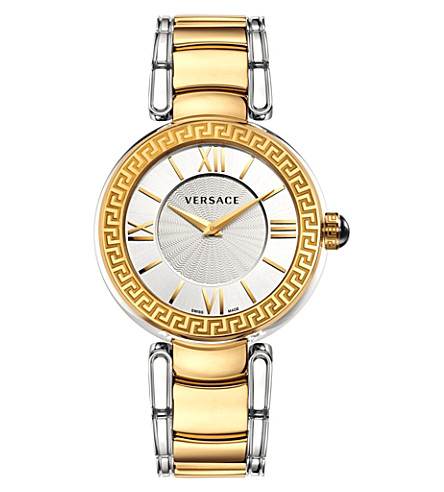 VERSACE VNC05 0014 Leda stainless steel watch (Silver