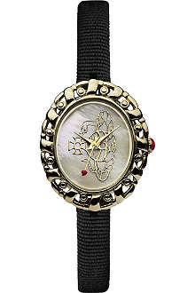 VIVIENNE WESTWOOD VV005CMBK Rococo logo black watch
