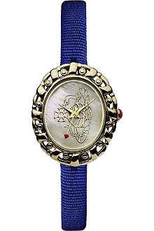 VIVIENNE WESTWOOD Rococo logo blue ladies' watch