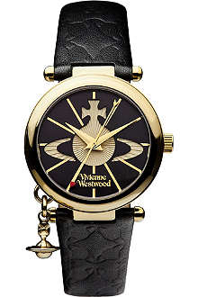 VIVIENNE WESTWOOD Orb black watch