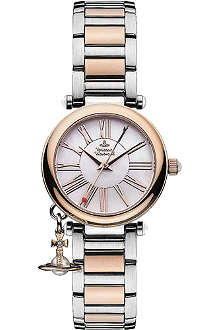 VIVIENNE WESTWOOD VV006PRSSL Mother Orb silver watch