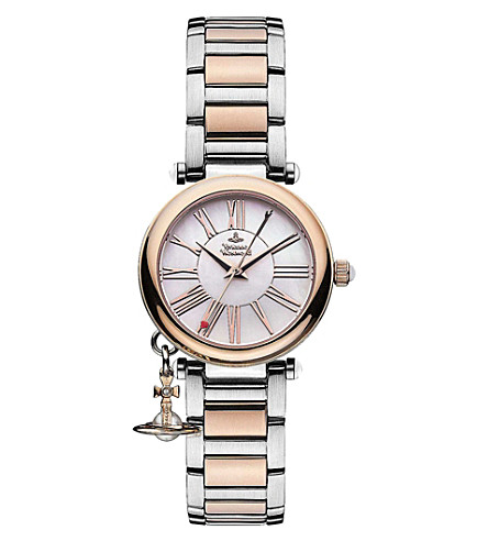 VIVIENNE WESTWOOD VV006PRSSL Mother Orb silver watch (Silver