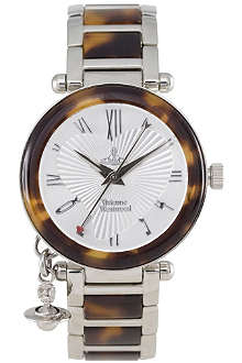 VIVIENNE WESTWOOD Orb tortoiseshell ladies watch