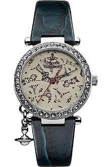 VIVIENNE WESTWOOD VV006SLTL Orb patent watch