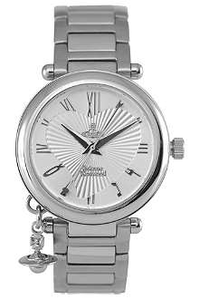 VIVIENNE WESTWOOD Orb silver ladies' watch