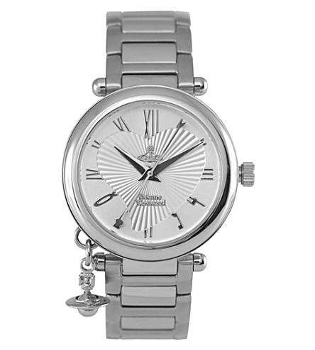 VIVIENNE WESTWOOD VV006SL Orb stainless steel watch (Silver