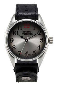 VIVIENNE WESTWOOD Heritage oversized black men's watch