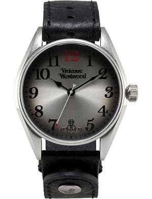 VIVIENNE WESTWOOD Heritage oversized black men's watch