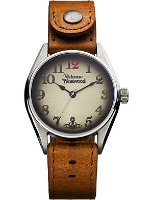 VIVIENNE WESTWOOD VV012TN Heritage oversized tan men's watch