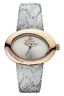 VIVIENNE WESTWOOD VV014SLGY Ellipse II watch