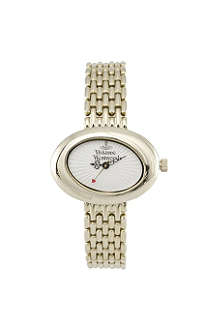 VIVIENNE WESTWOOD VV014WHGD Ellipse gold dress watch
