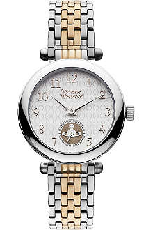 VIVIENNE WESTWOOD VV051SLTT two-tone stainless steel watch