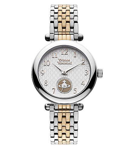 VIVIENNE WESTWOOD VV051SLTT two-tone stainless steel watch (Silver