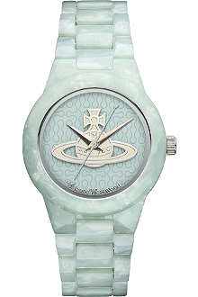VIVIENNE WESTWOOD VV075BLBL resin watch