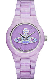 VIVIENNE WESTWOOD VV075PPPP resin watch
