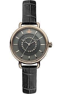 VIVIENNE WESTWOOD VV076CHCH black round watch