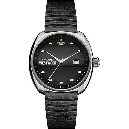 VIVIENNE WESTWOOD VV080BKBK stainless steel watch (Black