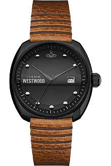 VIVIENNE WESTWOOD VV080BKTN coated stainless steel watch