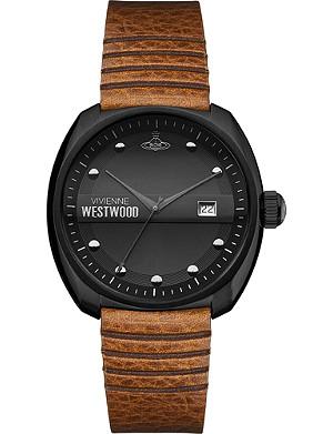 VIVIENNE WESTWOOD VV080BKTN coated stainless steel watch