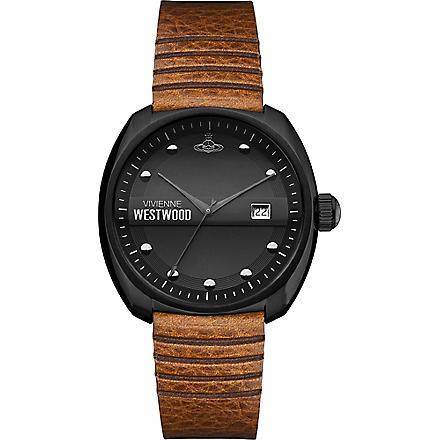 VIVIENNE WESTWOOD VV080BKTN coated stainless steel watch (Black