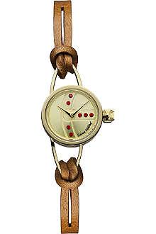 VIVIENNE WESTWOOD Chancery round orb watch