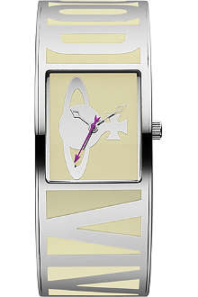 VIVIENNE WESTWOOD Rectangular-face cuff watch