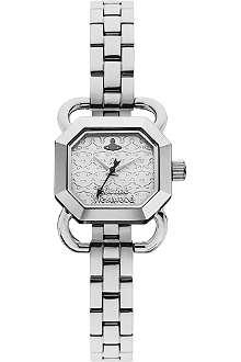 VIVIENNE WESTWOOD VV085SLSL Ravenscourt stainless steel watch