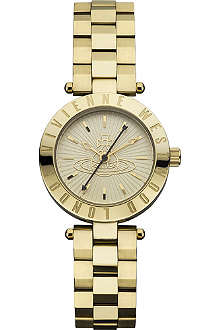 VIVIENNE WESTWOOD VV092GD Westbourne PVD gold-plated watch