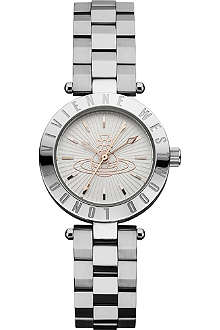 VIVIENNE WESTWOOD Female silver round watch