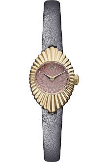 VIVIENNE WESTWOOD Concertina gold-toned watch