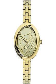 VIVIENNE WESTWOOD Twist gold-toned watch